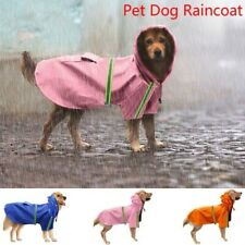 Pet Raincoat Jacket Clothes for Cat Dog Outdoor Waterproof Apparel 8 Sizes