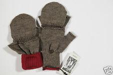 Neu Guess fingerlose + Fäustling Strick Handschuhe Gloves Gr.L (39)