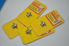 NEW Lot of 4  KING Chassis Connectors CB radio Antenna   pn#- K-132