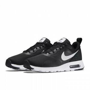 Womens Nike AIR MAX TAVAS  Shoes Sneakers Black/White (916791 001)