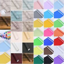 10M Roll Contact Paper Wallpaper Peel and Stick Self Adhesive Wall Sticker Decor