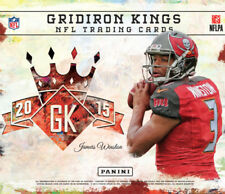 2015 Panini Gridiron Kings Football 12 Packs of 8 Cards
