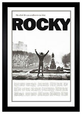 Rocky Balboa Million To One Shot 24 x 36 Framed Movie Poster (C2-1016)