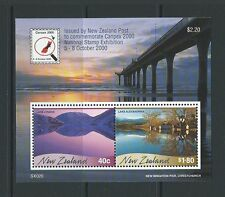 NEW ZEALAND 2000 CANPEX MINIATURE SHEET UNMOUNTED MINT, MNH