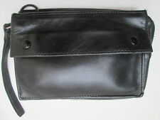 -AUTHENTIQUE  sac pochette LONGCHAMP   cuir  TBEG   bag vintage 60's
