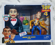 Toy Story 4 Benson & Woody Action Figure 2-Pack Disney Pixar Mattel New Sealed