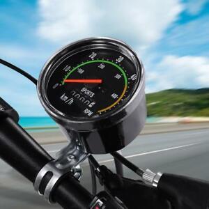 Retro klassisches fahrrad fahrrad tachometer analoge mechanische kilometer