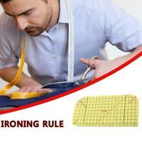 Ironing Ruler Patchwork Tailor Craft Diy Sewing Supplies Measuring DIY Tool P2U4