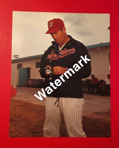 TED WILLIAMS 8 X 10 Photo MLB Baseball HOF Washington Senator Fishing Pole Sears