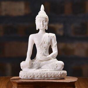 Buddha Statue Nature Sandstone Thailand Sculpture Hindu Figurine Home Decor