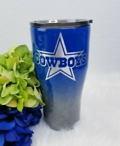 Dallas Cowboys Custom Stainless steel Tumbler 30 oz (name can be added)