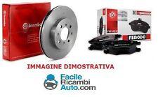 Kit dischi e pasticche freno Ant.Fiat Grande Punto 55 kw 1.3D MJ Brembo Ferodo