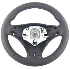 Genuine BMW E90 E91 E92 M sport steering wheel. Retrimmed, M3 tri-stitch. 17D