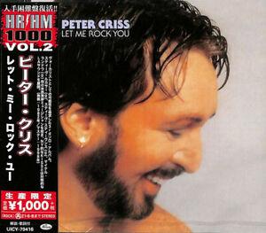 Peter Criss - Let Me Rock You    Japan Cd      NEW