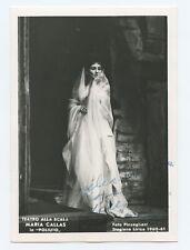 Maria CALLAS (Opera): Signed Photograph in Poliuto, 1960