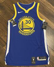 Nike NBA Steph Curry Golden State VaporKnit Authentic Jersey Sz 44 AV2643-498 M