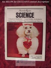 Saturday Review Science November 1972 ROBERT GALLAGHER STEVEN ROBERTS