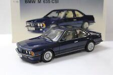 1:18 AUTOart BMW M 635 CSI Coupe Royal blue metallic