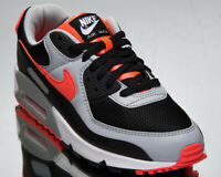Nike Air Max 90 Men's Black Radiant Red White Athlertic Lifestyle Sneakers Shoes