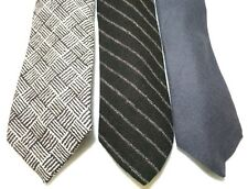 Made In Scotland Wool Ties Loft Brownstone Jacob Sheep Brown White Gray Set Of 3