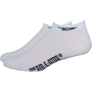 Socks Cycling DeFeet Speede D Logo White SIZE S (36-39,5)