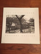 Lee Friedlander Factory Valleys Signed Photography Book Fair Condition