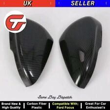 Ford Focus 2019 CARBON FIBER Side View Door Mirror Cover Upgrade - QUALITY ✅
