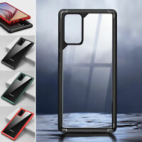 TPU Clear Shockproof PC Back Case Cover For Samsung Galaxy Note 20 Ultra S20+
