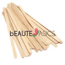 100 Sturdy Wax Waxing Stick Wood Spatulas Wooden Sticks, 5-1/2x1/4 - pw2013x1