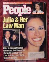 PEOPLE January 11 1999 JULIA ROBERTS BENJAMIN BRATT HELENA BONHAM CARTER