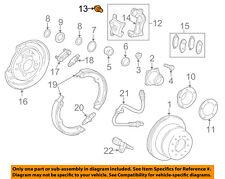 TOYOTA OEM 13-15 Land Cruiser Brake-Rear-Caliper Mount Bolt 90119A0276