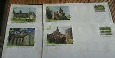 Lot de 4 enveloppes Prêt à Poster illustrées des Charentes - Lettre prioritaire