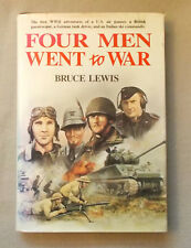 Four Men Went to War by Bruce Lewis ITALIAN SKI COMMANDO German Panzer Driver