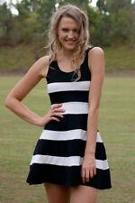 Wear to Work Stretch, Bodycon Striped Dresses for Women