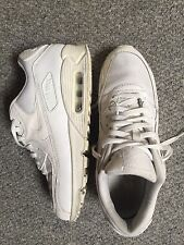 Nike Air Max Dentelle Blanche Up Baskets UK Taille 9