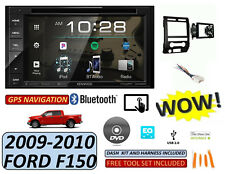 09-10 FORD F150 KENWOOD BLUETOOTH CAR RADIO STEREO W/ 6 BUTTON PANEL