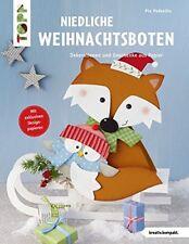 Niedliche Weihnachtsboten * Dekorationen und Geschenke aus Papier * TOPP 4175
