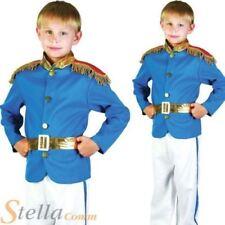 Disfraces y ropa de época color principal azul de poliéster