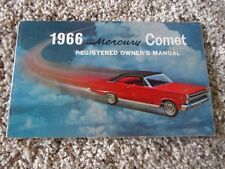 1966 Mercury Cyclone GT Factory Original First Edition Owners Manual Near Mint