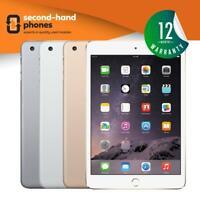 Apple iPad Mini 3 16GB 64GB 128GB WiFi & Cellular 4G Unlocked 7.9in All Colours