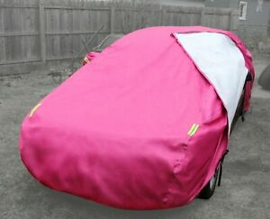 Pink Car Cover for Ford Mustang 65-05 Waterproof All Weather Protection