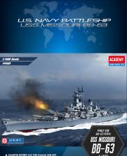 [Academy] #14401 1/400 USS MISSOURI BB-63 US Battle Ship Plastic Hobby Model kit
