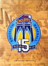 Brooklyn Cyclones Game Program/Magazine 2015 - 1st Edition (Gold cover)