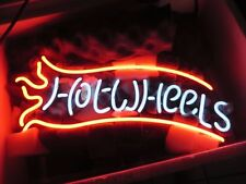 "New Hot Wheels Bar Pub Acrylic Neon Light Sign 14"""