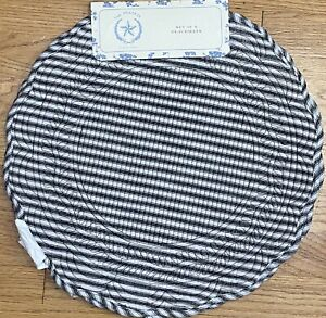 Rachel Ashwell Black Quilted Gingham Cloth Placemats Set Of 4 The Prairie