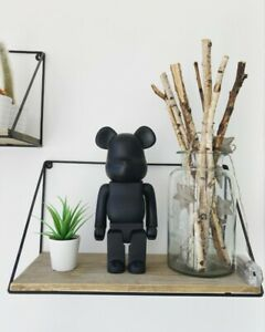 Bearbrick Action Figure Ornament Toy Collection 400% 28CM (Black) UK SELLER NEW