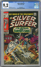 1969 Silver Surfer 9 CGC 9.2 White Pages
