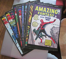 Amazing Spider-man Newspaper reprints complete run of 24 books  VG+