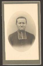 PHOTO CDV ABBE PRETRE CURE CATHOLIQUE