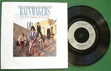 """The Rainmakers Let My People Go-Go 7"""" Single"""